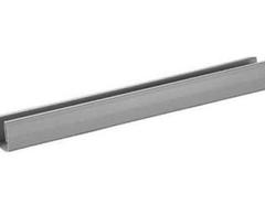 Profil vodorovný OC 2,4 m, výplň 4 mm - biela