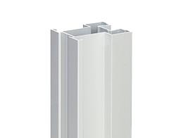 Profil zvislý AL WELLINGTON YELLOW , 40 x 32 x 2700 mm - strieborná - ks