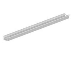 Koľajnica dolná jednostopová kobercová AL YELLOW , 35 x 7,7 x 5000 mm - strieborná - ks