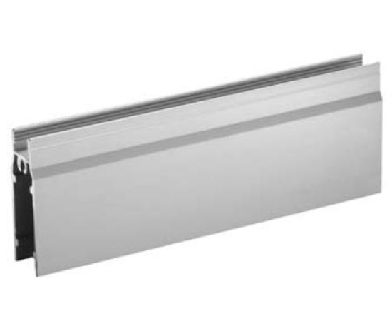 Profil vodorovný dolný YELLOW , 18 x 52,7 x 5000 mm - biela - ks