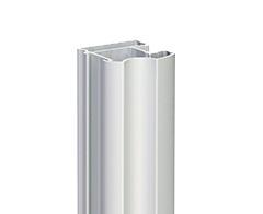 Profil zvislý AL DELHI 2 YELLOW , 31,7 x 33,3 x 2700 mm - strieborná št. - ks
