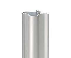 Profil zvislý AL BERLIN 2  , 31 x 32 x 5300 mm - strieborná - ks