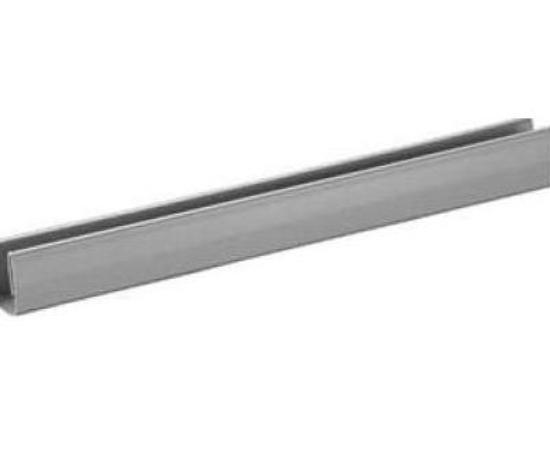 Profil vodorovný 10 mm , 2400 mm - antracit - ks