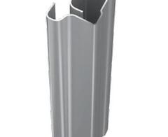 Profil zvislý MINSK, 10 mm , 2,75 m - strieborná